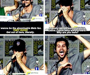 funny, mets, and dylan o'brien image