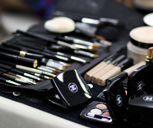 chanel, makeup, and girly image