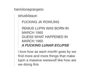 harry potter, j.k rowling, and tumblr image