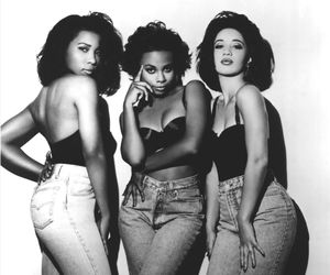 90s, black, and black woman image