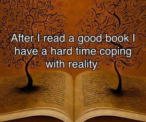 book, reality, and quotes image
