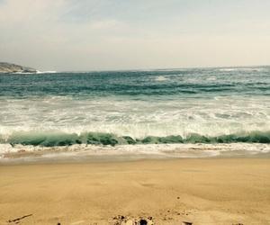 beach, light blue, and sea image