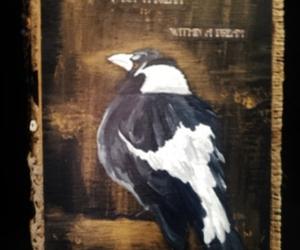 9925698db2 Disturbia Clothing - Magpie Art Print on We Heart It