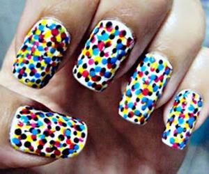 nails, colors, and nail art image