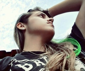 color, girls, and sky image