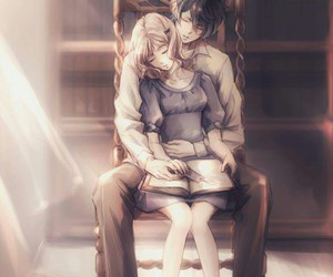 anime, diabolik lovers, and couple image
