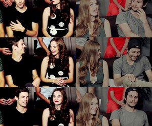 the flash, danielle panabaker, and holland roden image