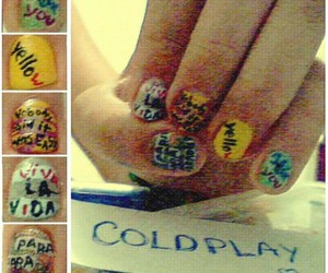 art, beautiful, and coldplay image
