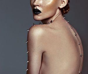 artistic, glow, and makeup image