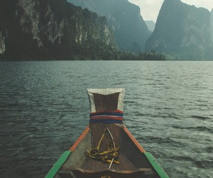 tribal, boat ride, and relaxzation image