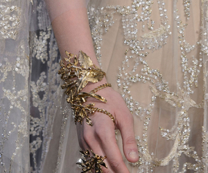 accessories, dress, and elie saab image