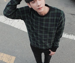 boy, korean, and style image