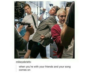 5sos, luke hemmings, and calum hood image