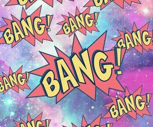 bang, wallpaper, and background image