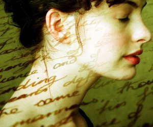 Anne Hathaway, book, and becoming jane image