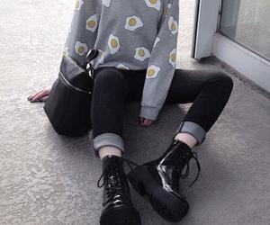 grunge, black, and style image