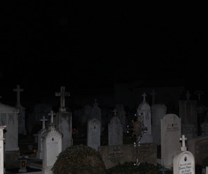 dark, theme, and cemetery image