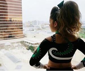 cheer, cheerleader, and girl image