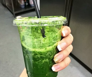 fitness, green, and smoothie image