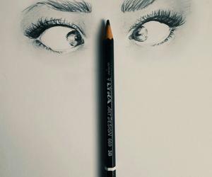 eyes and girl image