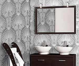 art deco, design, and wallpaper image