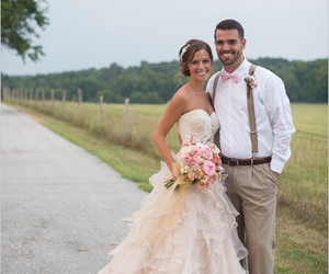 wedding, bride, and country image