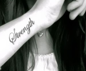 tattoo and strength image