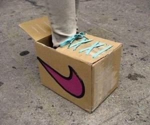 nike, shoes, and funny image