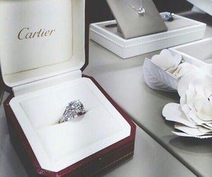 cartier, ring, and luxury image