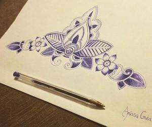 Fleurs, Motif, and magnifique image