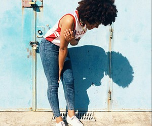 African, natural hair, and portuguese image