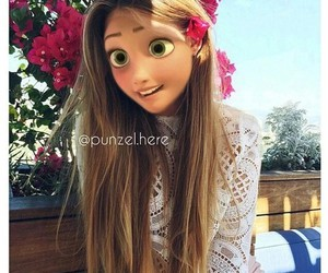 kristina bazan, flowers, and rapunzel image