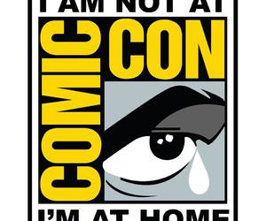 comic con, sad, and cry image