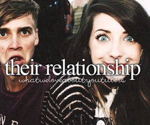 brother, sister, and zoella image