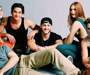 teen wolf, tyler posey, and cody christian image