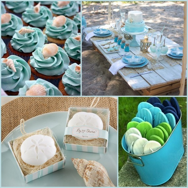 Beach Themed Bridal Shower Ideas Hotref Party Gifts