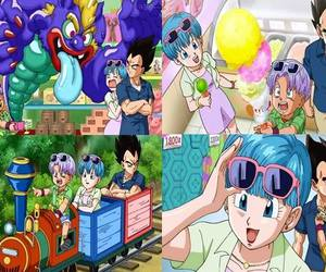 bulma, new, and trunks image