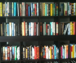 books, goals, and library image