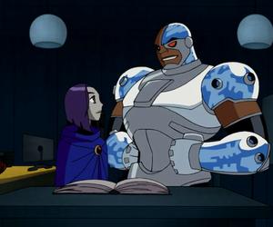 cyborg, lol, and raven image