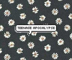 flowers, apocalypse, and teenage image