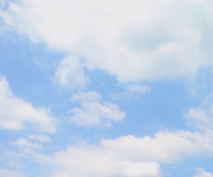 blue, clouds, and happy image