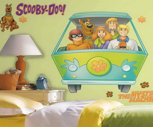 scooby doo bedroom sets, scooby doo rooms, and scooby doo stickers image