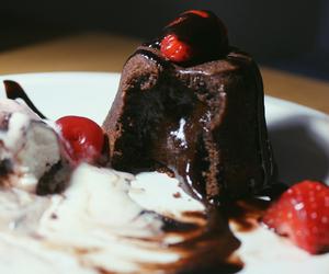 boho, cherry, and chocolate image