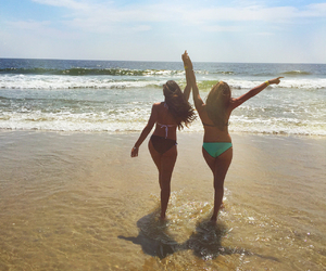 babes, beach, and best friends image