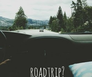 roadtrip, travel, and car image