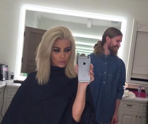kim kardashian, hair, and kardashian image