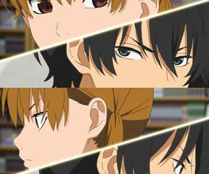 anime, haru, and my little monster image