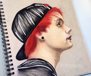 red hair, 5 seconds of summer, and 5sos image