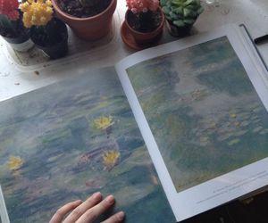 art, plants, and grunge image