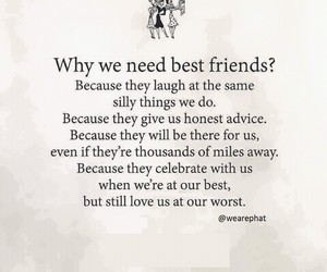 best friends, celebrate, and love image